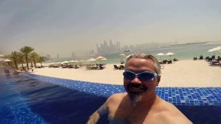15 April 2017 - Enjoying the pool and beach at Oceana Beach Club and 14th Street Steakhouse