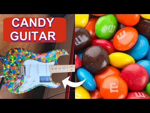 I built this Stratocaster electric guitar build from  4000 M&M's  Video