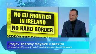 Projev Theresy Mayové k brexitu