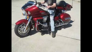 3. 2010 KAWASAKI VULCAN 1700 VOYAGER ABS $6800 FOR SALE WWW.RACERSEDGE411.COM