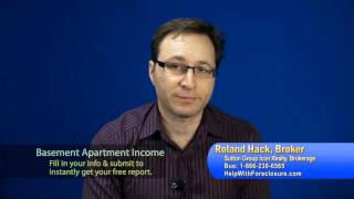 How to convert basement to rental unit apartment for extra income