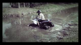 6. Polaris Phoenix 200 mudding
