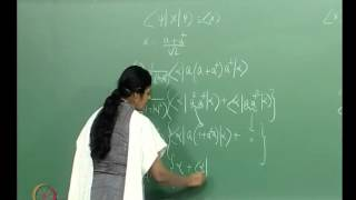 Mod-01 Lec-14 Exercises On Quantum Expectation Values