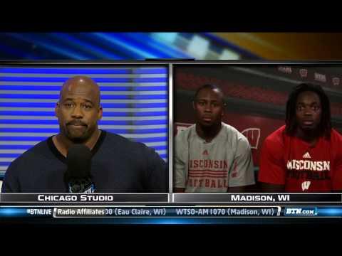 Melvin Gordon & James White Interview 9/24/2013 video.