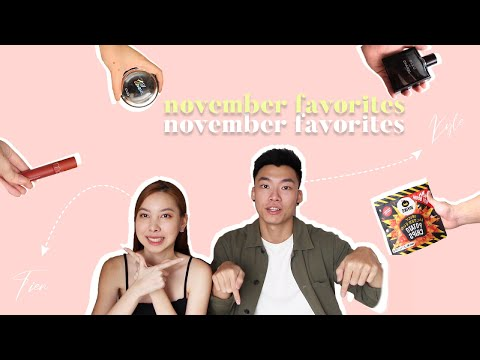 November Favorites ft. Boyfriend | TIEN LE