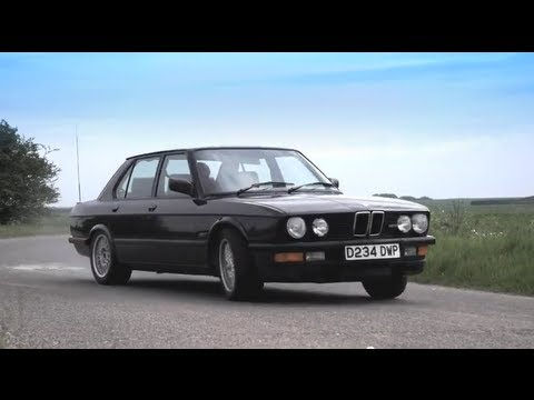 e28 - I haven't driven my M5 for years, so I got it road-ready and took it for a drive. It still feels nuts today - what the hell was it like in 1986?