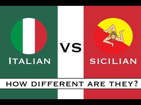 Italian vs Sicilian | How Different Are They? | Learn Sicilian