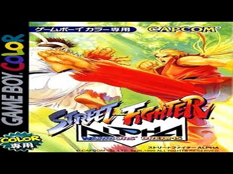 street fighter alpha warriors dreams game boy moves