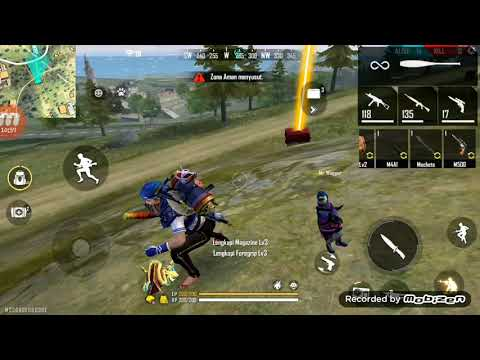Misi top up backpack mystic fox backpack(free fire indonesia)