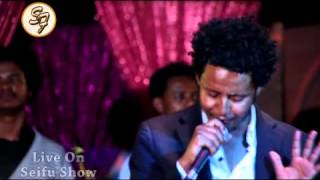 Dawit Bana performs live on Seifu Fantahun Show