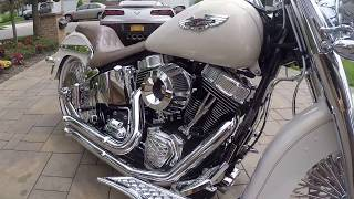 5. 2014 Harley Davidson FLSTN Deluxe For Sale~Totally Customized w/ ONLY 900 MILES!