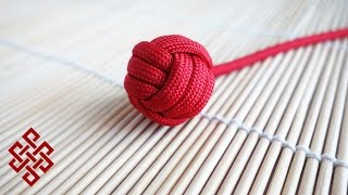 How to Make a Monkey's Fist with No Marble / Ball Bearing Tutorial