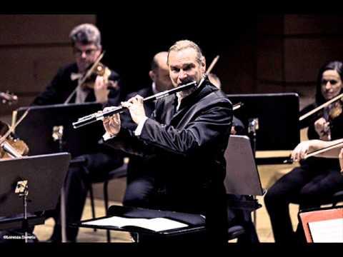 Paganini, 24 Caprices for Solo Violin(Flute), Op.1, No.7, No. 8 e No.9. Flautista Patrick Gallois