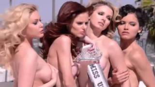 Miss USA Winners Pose Naked For New PETA Ad!