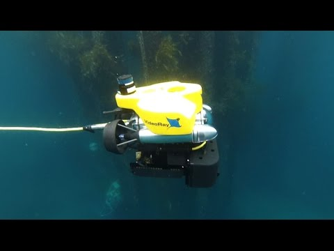 United States Navy uses VideoRay Pro 4 ROV to Counter WBIEDs