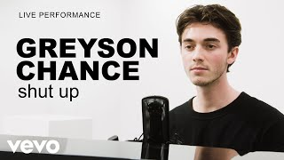 Download Lagu Greyson Chance - 'shut up' Live Performance | Vevo Mp3