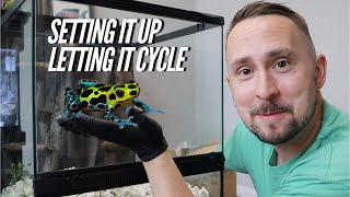 Setting up a DART FROG Vivarium Step by Step - Bioactive | Jay Wilson