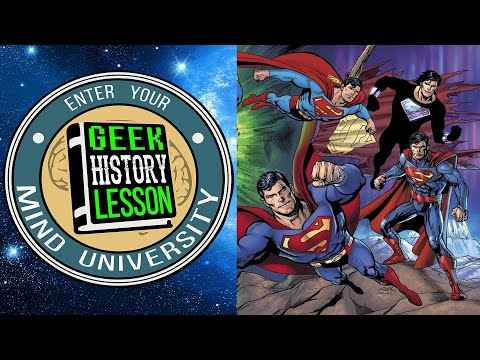 Our Superman Timeline with Cameron Cuffe - Geek History Lesson