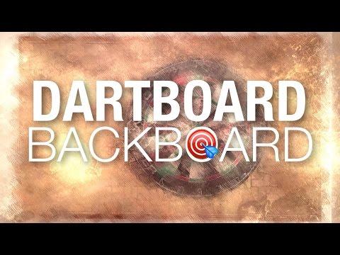 Dartboard Cork Backboard