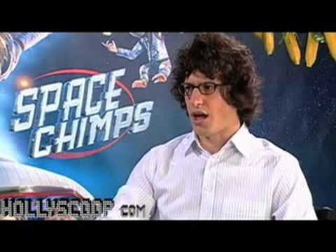 Andy Samberg Goes To Space