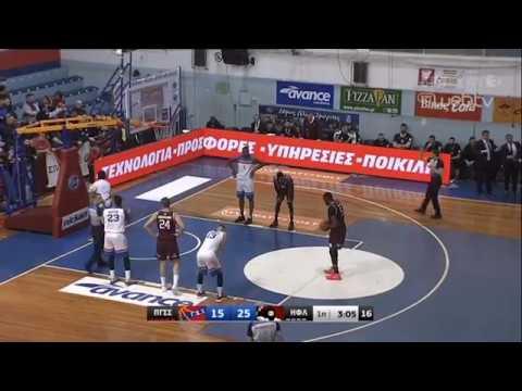 Basket League 2018-2019: ΠΑΝΙΩΝΙΟΣ – ΗΦΑΙΣΤΟΣ ΛΗΜΝΟΥ 79-93 | 26/1/2019 | ΕΡΤ