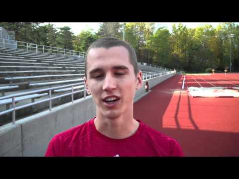 Andy Bayer of Indiana before Big Ten XC Championships