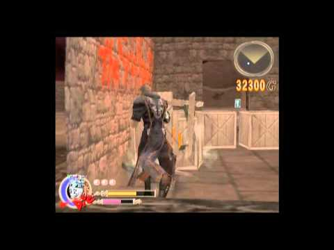 preview-Let\'s Play God Hand! Hard mode - 008 - Stage 2-2: Human Fireworks = PARTY! (ctye85)