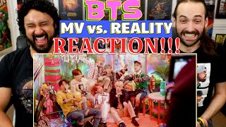 BTS | MV vs REALITY - REACTION!!! by The Reel Rejects