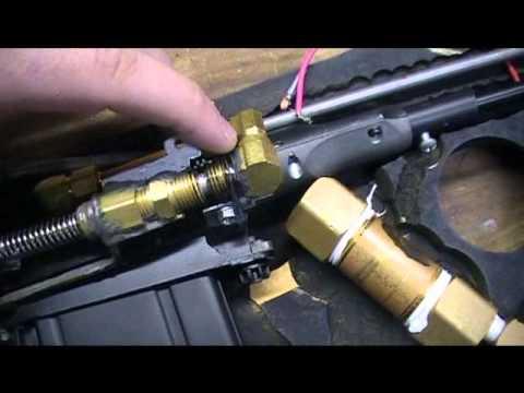 Homemade airsoft sniper, Airsplat Custom gun contest