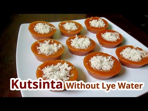 Kutsinta Without Lye Water | Kutsina Recipe