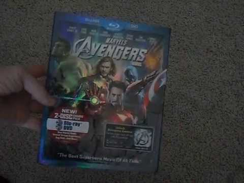 Unboxing The Avengers Blu-ray+DVD