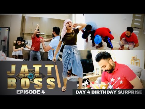 JATT BOSS | EPISODE 4 | DAY 4 BIRTHDAY MONTH SURPRISE @Inder & Kirat
