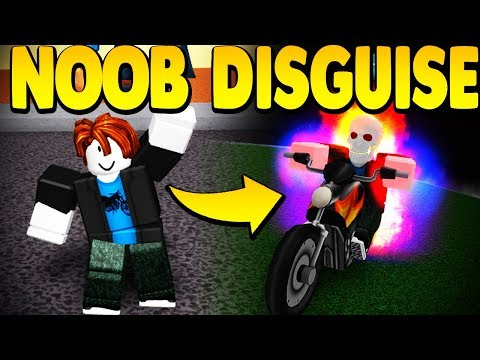 DISGUISING MYSELF AS A NOOB *TROLLING* IN SUPER POWER TRAINING