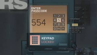 How to get into NSN Server Room - NSN Card Location and All Passcodes   Deus Ex Mankind Divided