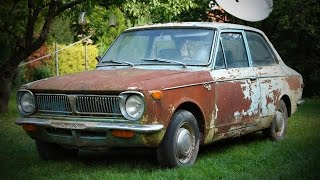 Video 1969 1st generation Toyota Corolla KE11 find, buy and first start after ~15 years MP3, 3GP, MP4, WEBM, AVI, FLV Februari 2019
