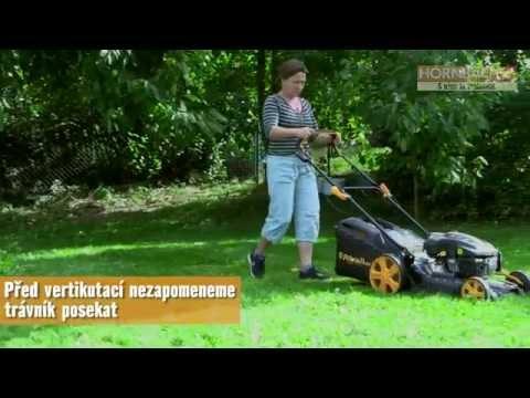 Vertikutator AL-KO Combi Care 38 E a videotest Českého Kutila