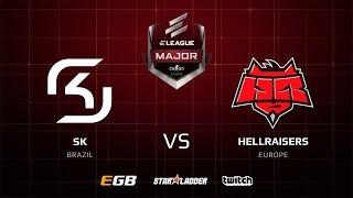 SK vs HellRaisers, mirage, ELEAGUE Major 2017