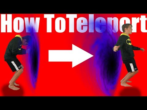 How To Teleport In Real Life Step By Step  60 Second Tutorial 