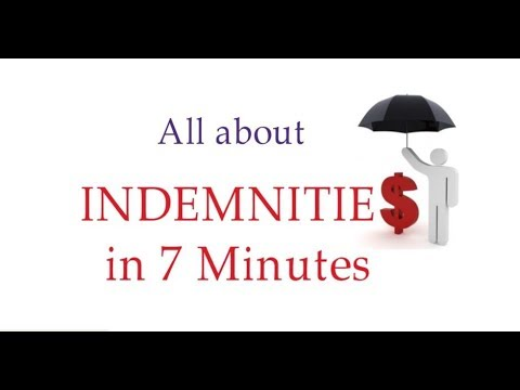 Complete Chapter Of Indemnities [in Hindi]