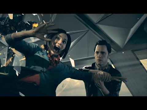 break - We analyze the first few snippets of actual Quantum Break gameplay footage.