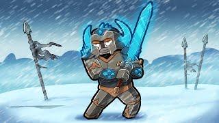 Legendary ICE Dragon Warrior! (Minecraft Dragons)
