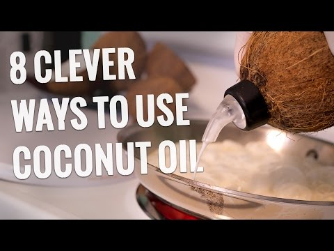 8 tapaa käyttää kookosöljyä – Tiesitkö nämä?