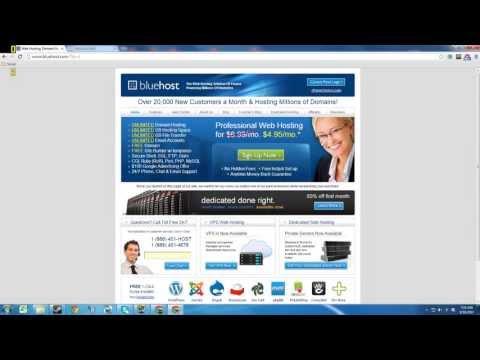 Install WordPress on your Bluehost account  [Beginner WordPress Website Series] Part 1
