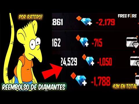 HAGO REEMBOLSO DE 42K DE DIAMANTES A SEGUIDOR POR ESTA RAZON 💎💰 FREE FIRE