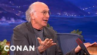 Larry David Explains His Parking Lot Meltdown - CONAN on TBS