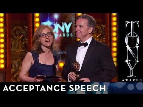 2014 Tony Awards: Acceptance Speech - Signature Theatre