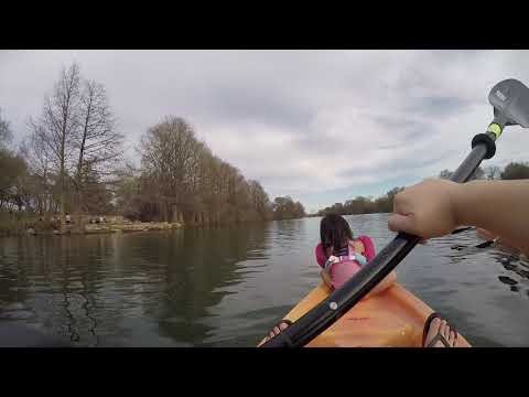 Kayaking With Ava, Tai And Trisa 3/9/19