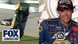 Michael Waltrip on how he won Talladega in 2003 after a wild flip by Elliott Sadler | NASCAR on FOX by FOX Sports
