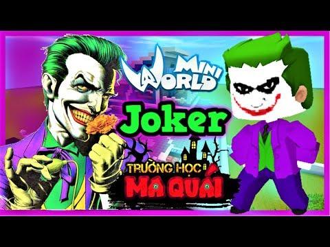 TRƯỜNG HỌC MA QUÁI: -tập 15- 1 ngày làm Joker | Thử thách 24h ăn trộm ngôi sao 1000 tỷ mini world - Thời lượng: 15 phút.
