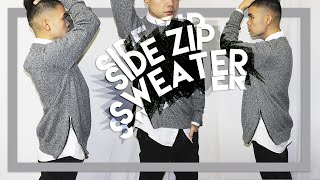 DIY: Side-Zip Sweater (Last DIY Of The Year!!) Happy 2015!